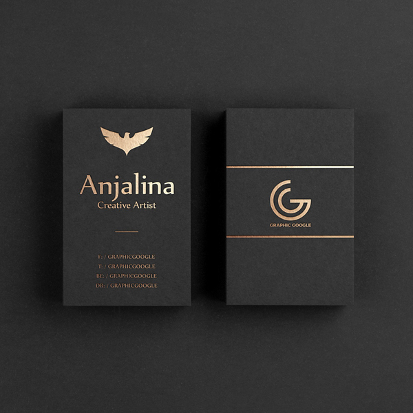 BUSINESS CARDS-STANDARD (FINISHING-Foiling or UV)