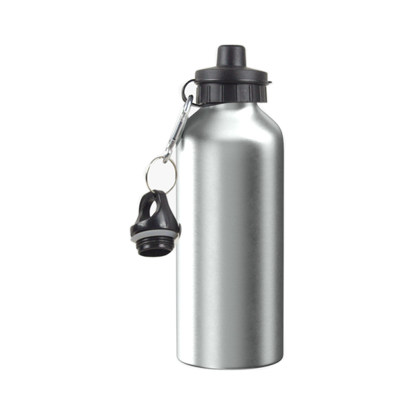 Brushed Silver Sublimation Aluminium Water Bottle